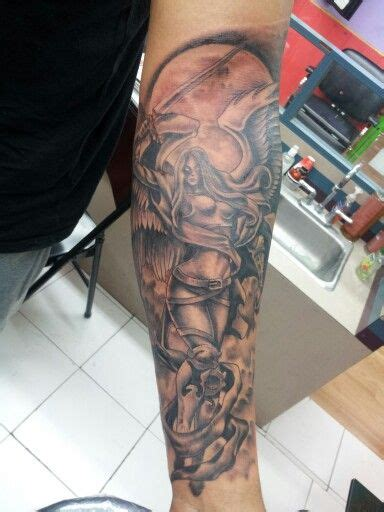 tattoos in san antonio tx guardian religious tattoos by adrian flores