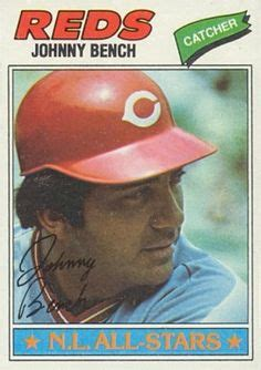 johnny bench baseball reference johnny bench on pinterest