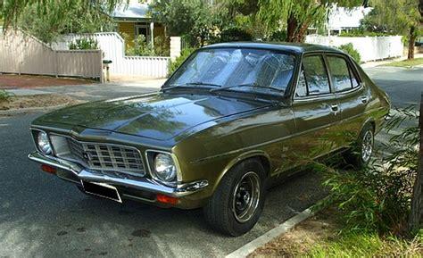 lj torana four door sedan in original condition