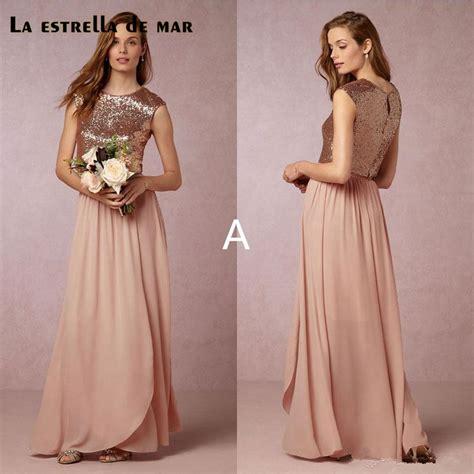 Bridesmaid Dresses Wedding by Popular Gold Bridesmaid Dress Buy Cheap Gold Bridesmaid