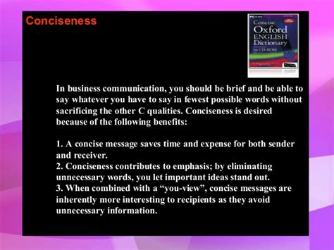 Should Out Of Mba Be The Exact by 7 Cs Of Effective Communication Mini Mba Free