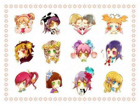 12 cung hoang dao h 236 nh 12 cung hoang dao jpg anime pinterest chibi