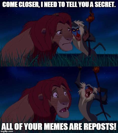 Lion King Meme Blank - lion king imgflip