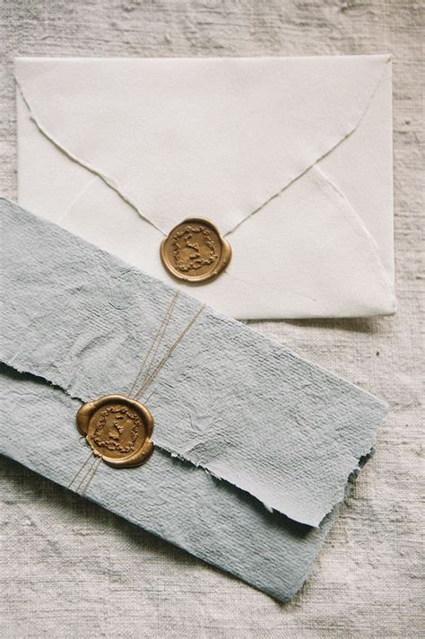 Unique Ways To Seal Wedding Invitations by 1000 Ideas About Vintage Wedding Invitations On