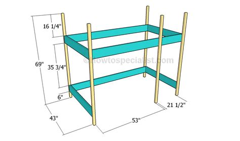 Build Loft Bed Frame How To Build A Loft Bed Howtospecialist How To Build Step By Step Diy Plans