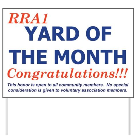 yard of the month bloomingdale homeowners association yard signs of the month bing images