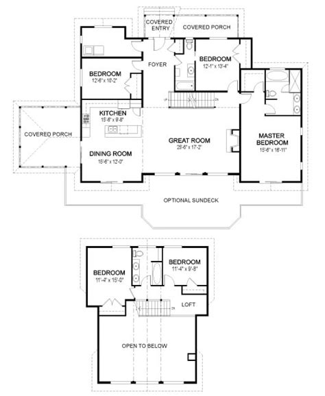 Post And Beam Home Plans Floor Plans by Eagle Landing Family Custom Homes Post Beam Homes