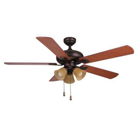 Ceiling Fans Scottsdale Az by Hton Bay Scottsdale 52 In Indoor Rubbed Bronze