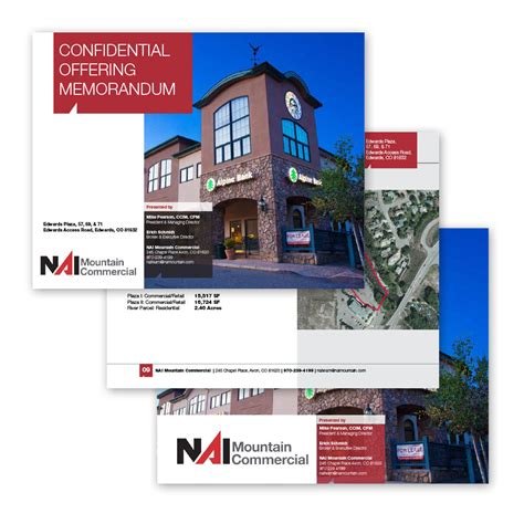 commercial real estate offering memorandums ml