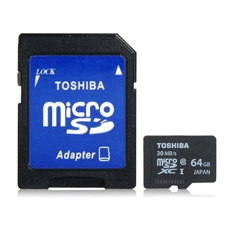 Microsd Toshiba 64gb toshiba 64gb microsdxc micro sd tf card uhs i class 10 high extended ultra speed data tf memory card