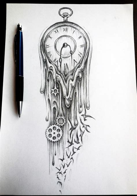 tattoo drawing hourglass drawings search posted by