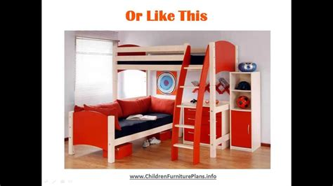 do it yourself bunk beds bunk beds for kids quick easy do it yourself plans youtube