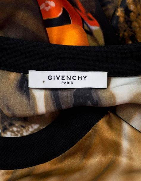 Givenchy Tribal Patch Polo Shirt In Black 100 Authentic givenchy ss 14 tribal and robot print silk top sz xs rt