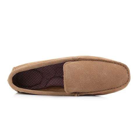 slip on slippers for mens clarks kite kindling suede soft comfort slip on
