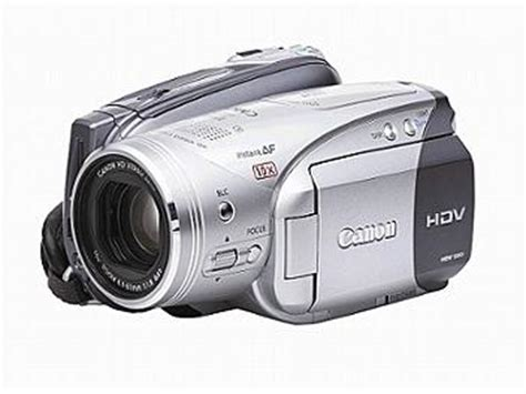 canon hv20 hdv high definition (1080i) camcorder (vixia