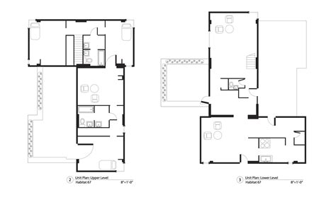 habitat floor plans habitat 67 floor plans habitat 67 pinterest