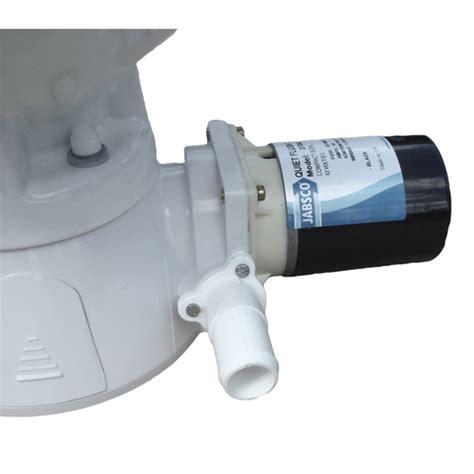 jabsco quiet flush toilet 37045 jabsco compact bowl quiet flush electric toilet sheridan