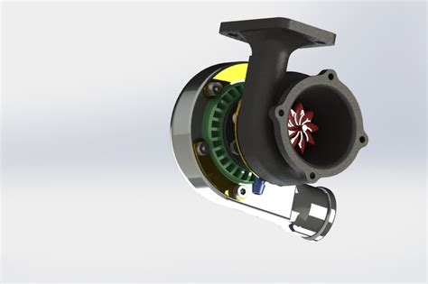 tutorial turbo solidworks turbo solidworks 3d cad model grabcad