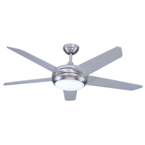 ceiling fans with bright led lights fans neptune ceiling fan 54 inch brushed nickel with