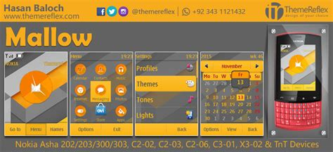 free themes for nokia c2 02 touch and type mallow theme for nokia asha 202 203 300 303 c2 02 c2