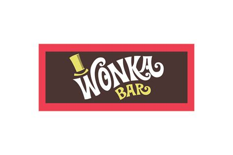 wonka template wonka bar logo logo cdr vector