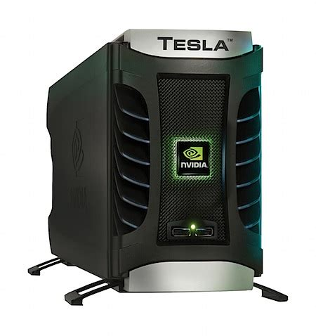 Tesla Supercomputer Nvidia Tesla Desktop Supercomputer 187 Iso50 The