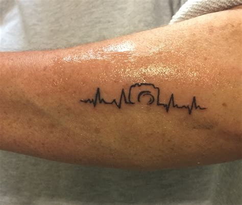tattoo camera with heartbeat photography