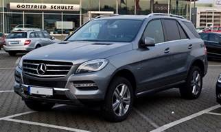 Mls Mercedes Mercedes Ml 250 Technical Details History Photos On