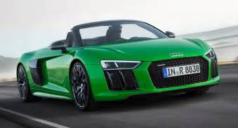 Where Are Audi Made New Audi R8 V10 Spyder Debuts In Plus Guise With 601hp