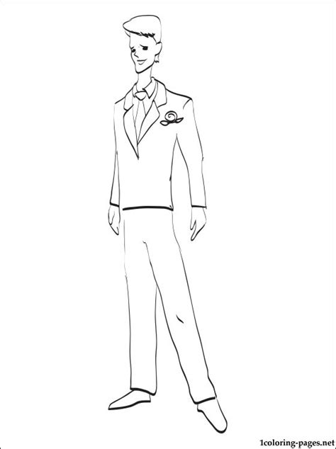 And Groom Coloring Pages groom coloring page coloring pages