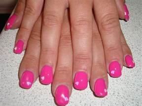 hayley emma simpson bio sculpture gel nails with nail art