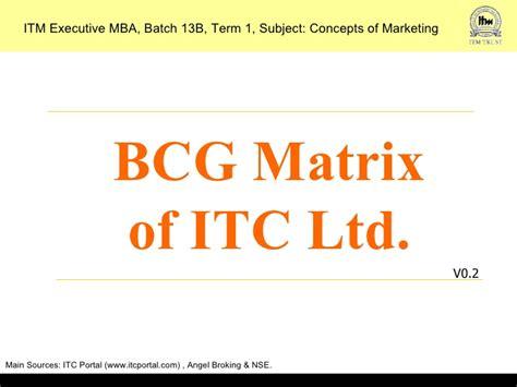 Itc Mba by Bcg Matrix Of Itc Ltd V02 1222197387335911 8 2
