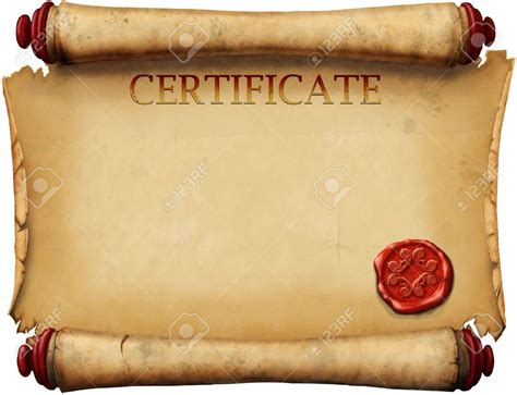 certificate scroll template blank scroll certificate templates best design sertificate