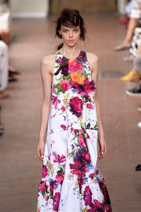 vestito a fiori abito lungo a fiori
