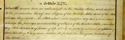 What Does Section 2 Of The 14th Amendment by O Tempora O Mores What Does The Constitution Say About