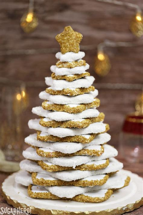 gingerbread christmas cookie tree sugarhero