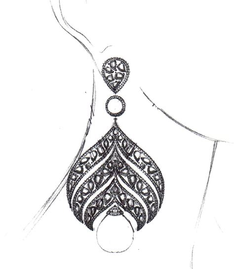 typography jewelry sketch of an new couture design we re looking to debut soon design jewelry designer
