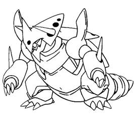 mega coloring pages mega evolution coloring pages