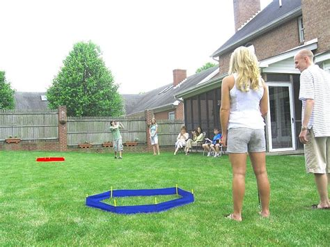 backyard golf games big time twist on classic outdoor games outdoor patio ideas