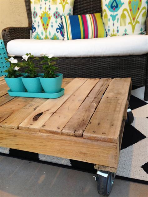diy wood pallet coffee table studio