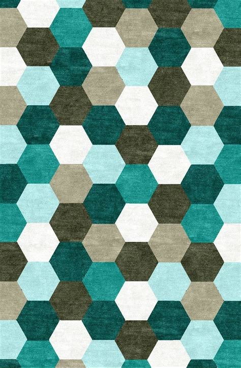 hexagon rugs hexagon the rug establishment