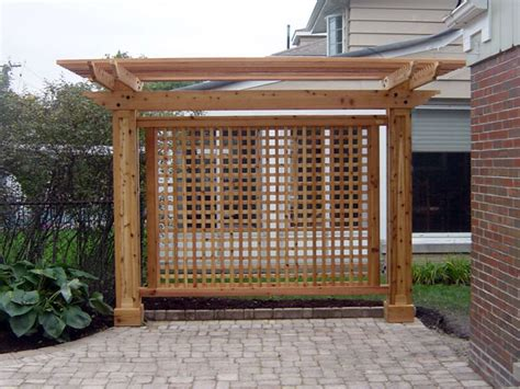 Trellis For Privacy garden arbors waldron construction llc