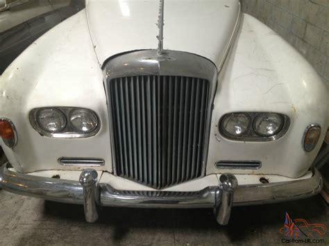 bentley white 4 doors bentley 4 door 1957 white