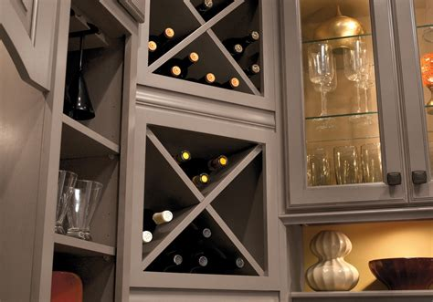 Kitchen Cabinets With Wine Rack Custom Cabinets Kabco Kitchens