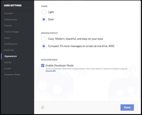 discord server id how to get a token and channel id for discord 183 chikachi