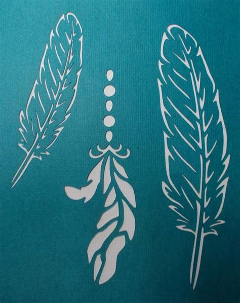 scrapbooking stencils and templates scrapbooking stencils templates masks sheet feathers x