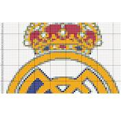 Dibujos Punto De Cruz Gratis Escudo Real Madrid