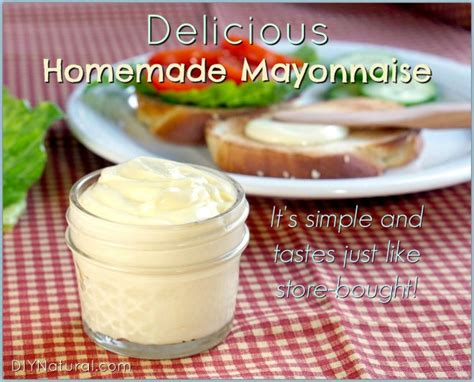 mayonnaise that tastes like store bought