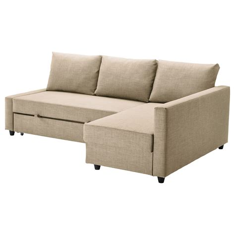 Sofa Mit Stauraum by Friheten Corner Sofa Bed With Storage Skiftebo Beige Ikea