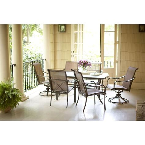 Martha Stewart Living Mallorca Ii 7 Patio Dining Set Outdoor Furniture Mallorca